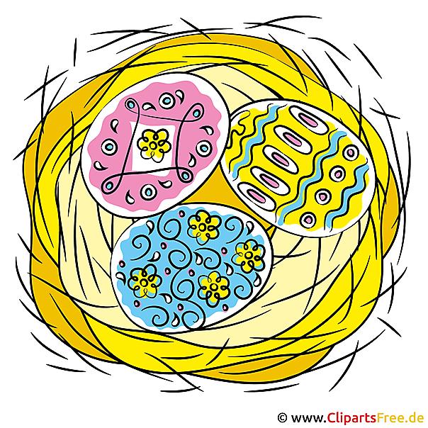 Ostereier Illustration