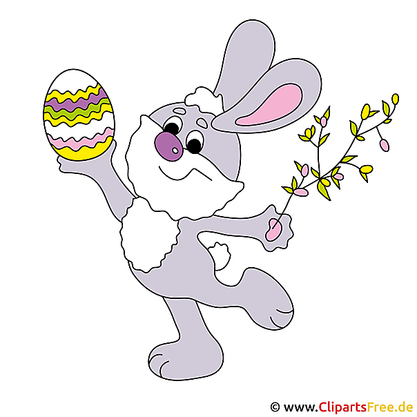 Osterhase Clipart