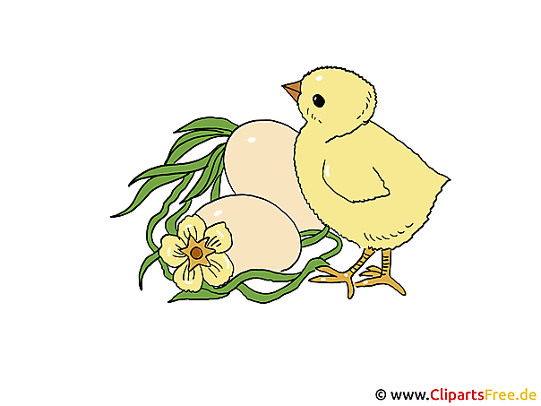 Ostern Comic Bild
