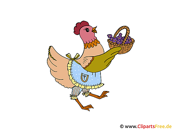 Ostern Comic Clipart