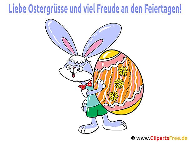 Ostern Glückwünsche als Bilder, eCards und Illustrationen