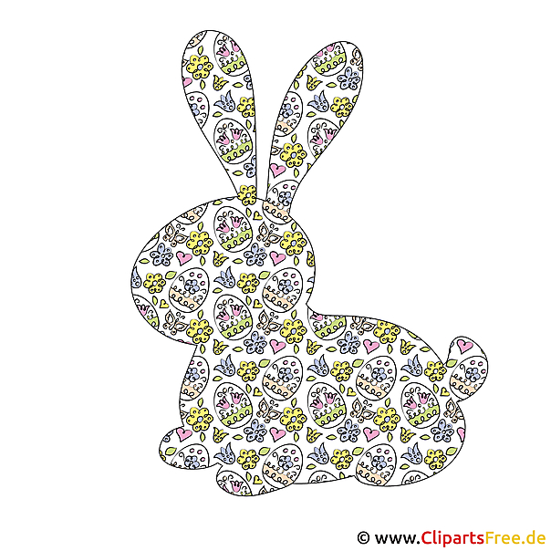 Osterplaetzchen konijn
