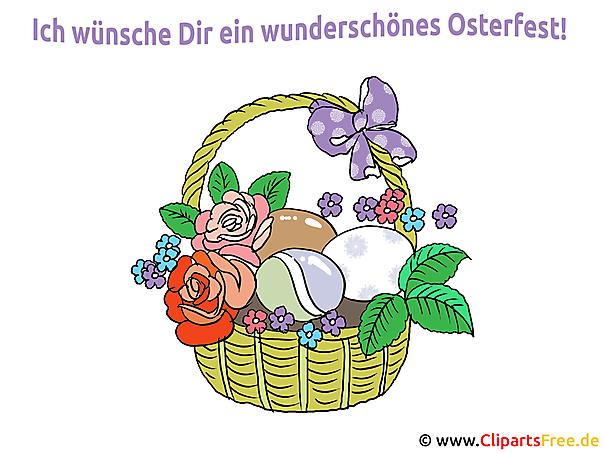 Ostersprüche mit Bildern