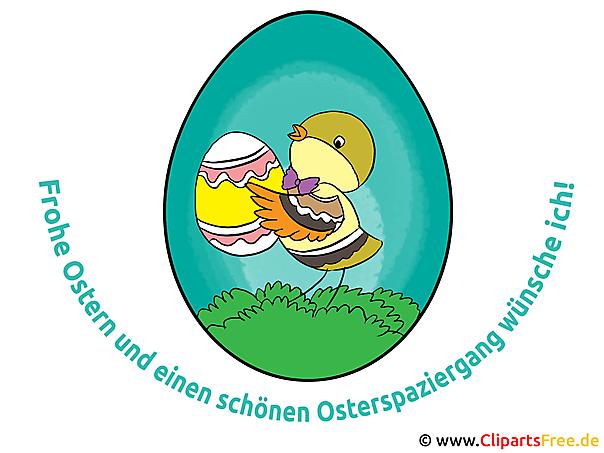 Ostersprüche mit Illustrationen