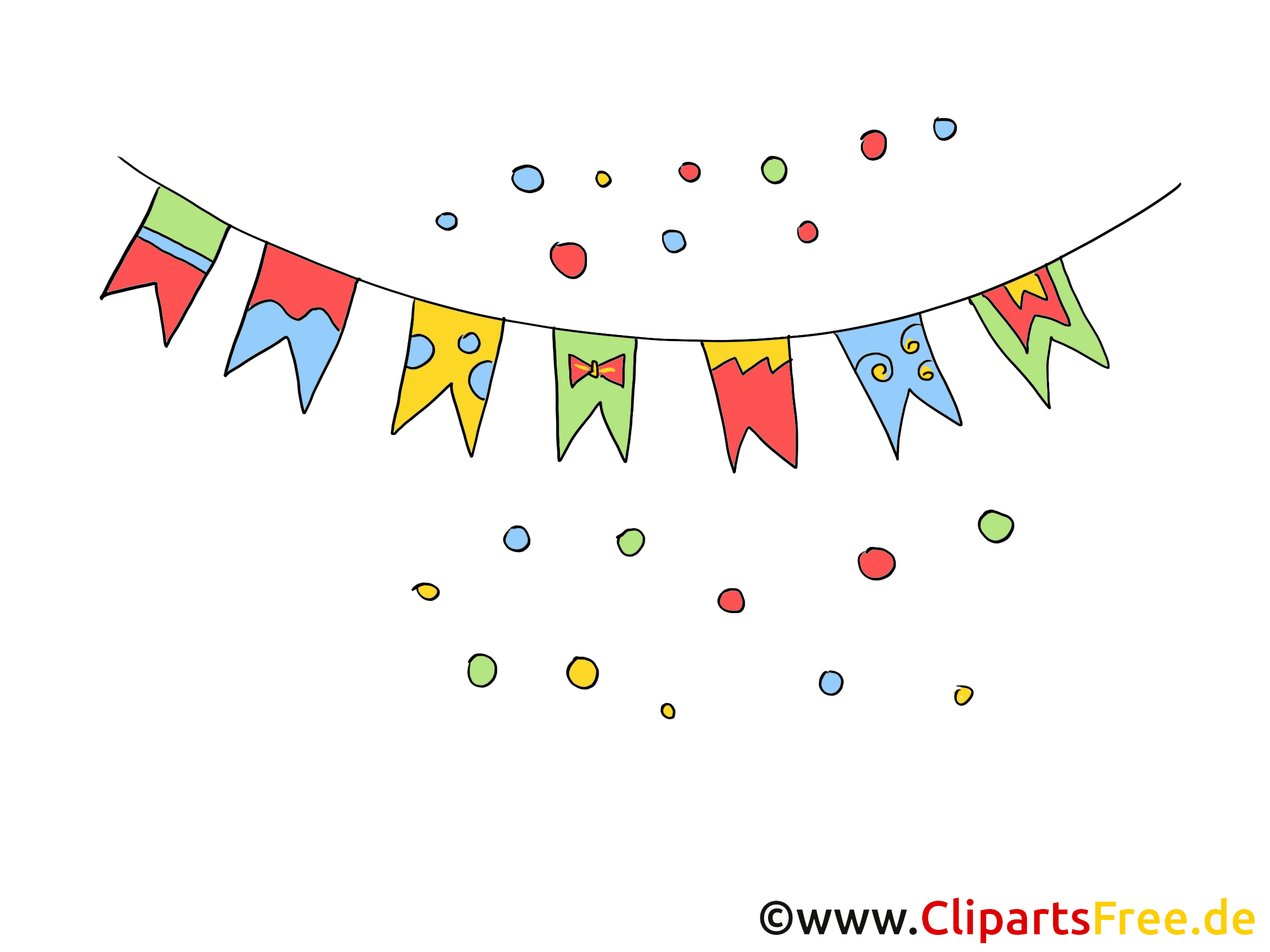 Ücretsiz parti Clipart, Resimler, Resimler