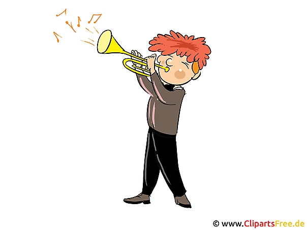 Musiker Bild, Clipart, Cartoon gratis