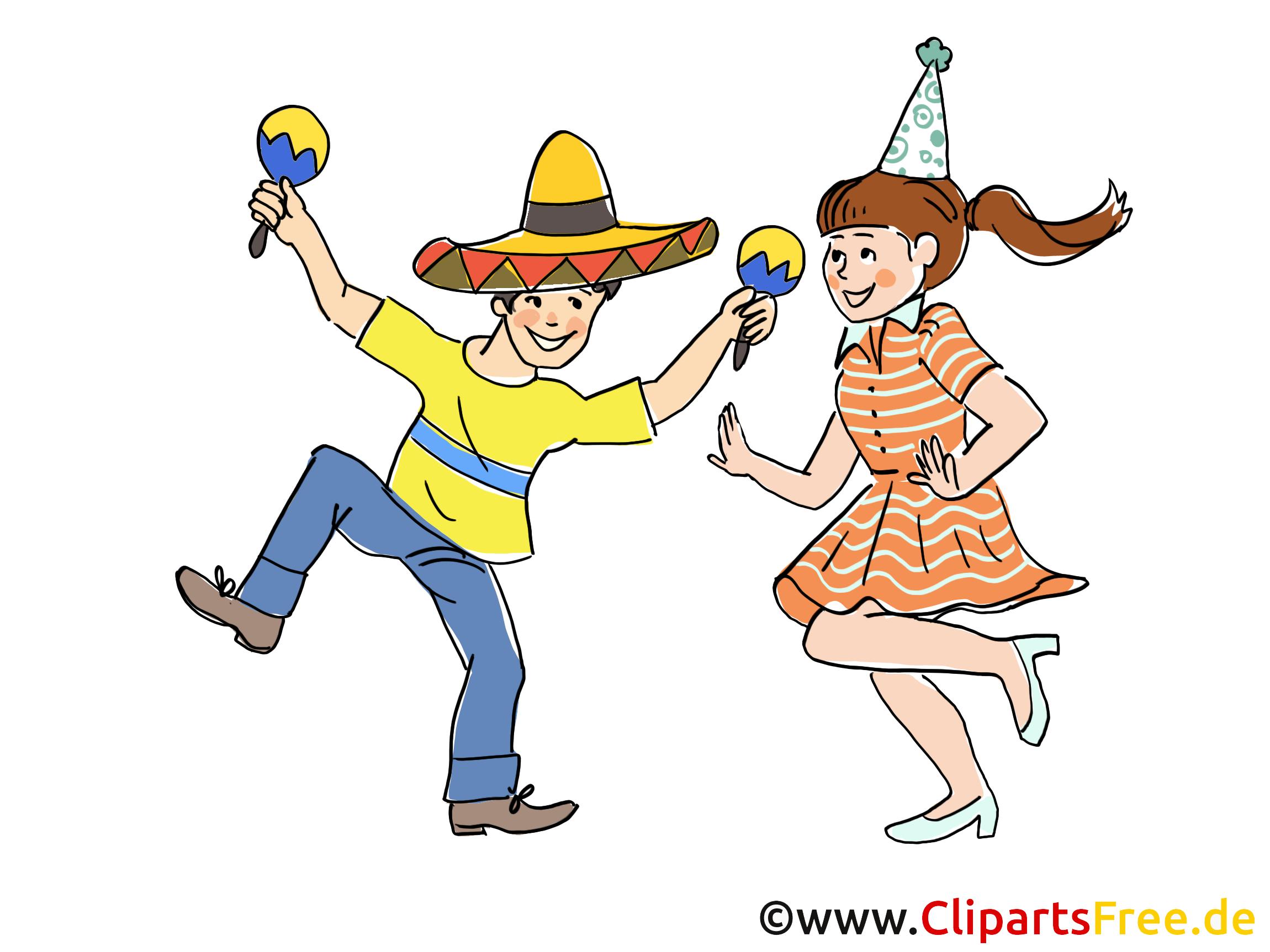 Baskı için ücretsiz parti Clipart