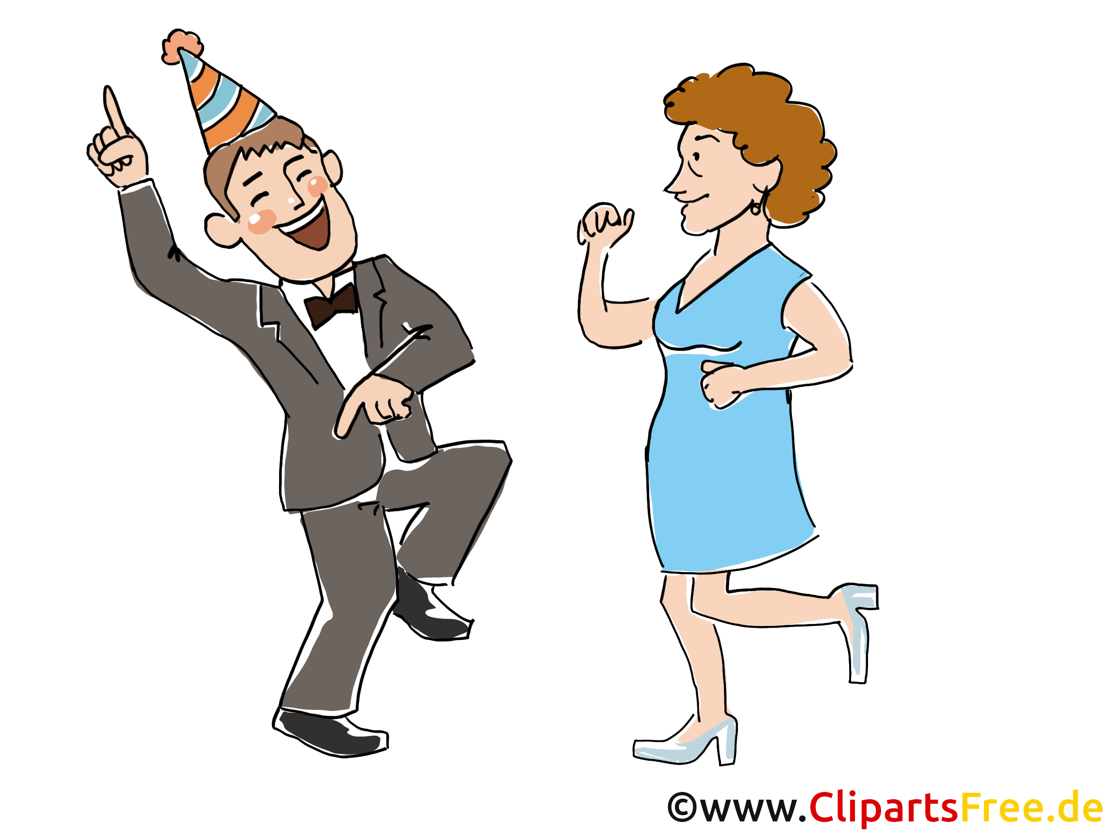 Parti davetiyesi komik