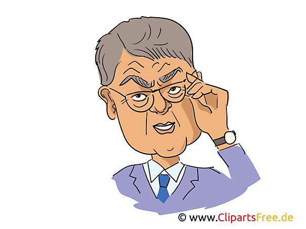 Sigmar Gabriel Karikatur, Bild, Illustration, Comic