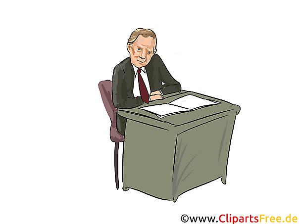 Wolfgang Schäuble Karikatur, Comic, Cartoon, Illustration, Clipart Politiker