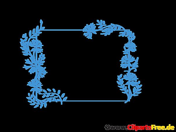 Blumenranken Clipart kostenlos zum Herunterladen in Hochauflösung
