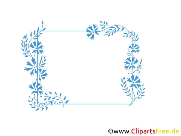 Blumenranken Clipart 8398 on Kindergarten Clip Art