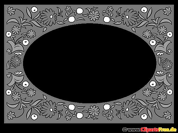 白黒フレーム