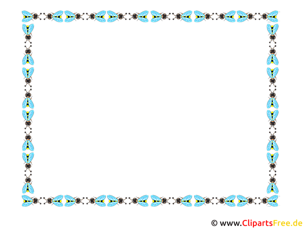 Rechteckigen Rahmen Clip Art