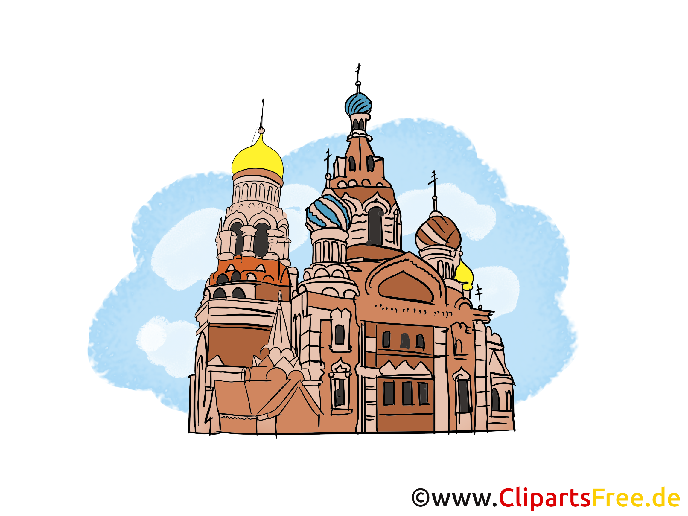 Basilius-Kathedrale Bild, Clipart, Illustration, Grafikm gratis