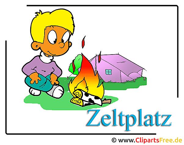 Camping Clipart-Bild free