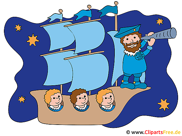 Christoph Columbus Clipart