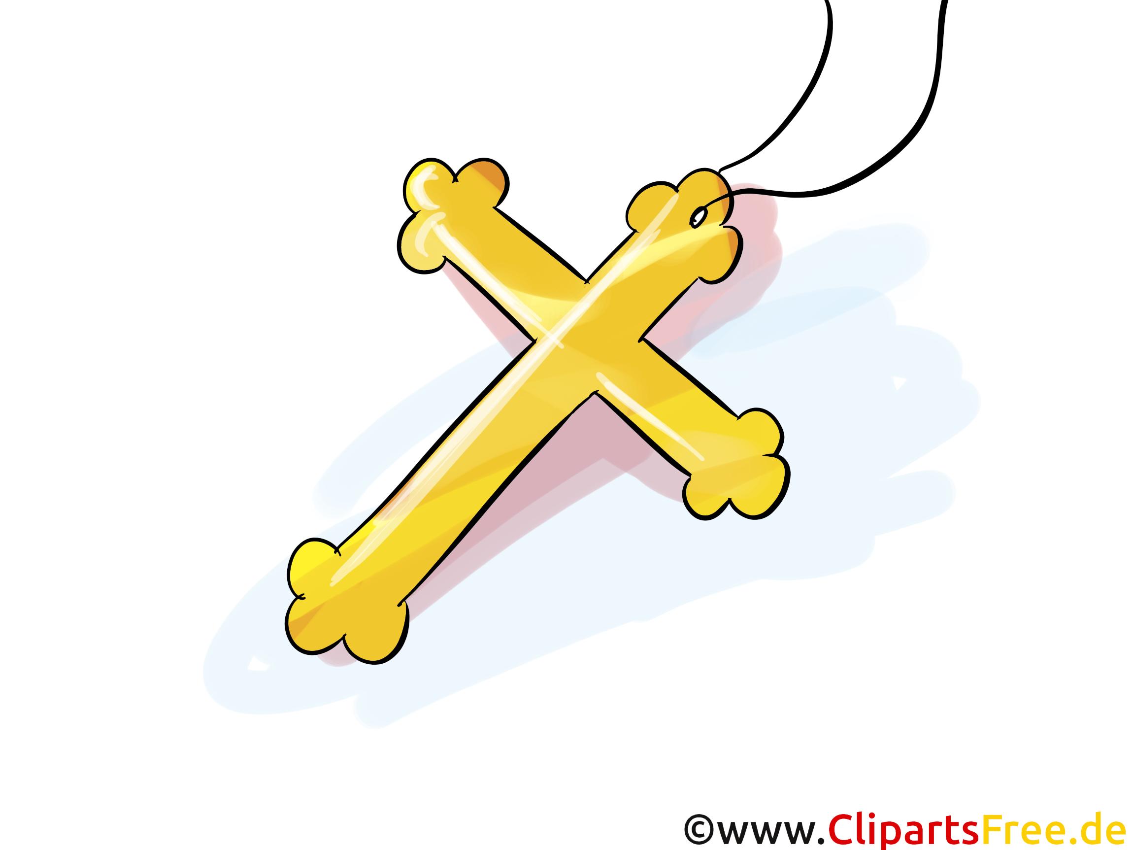 Taufe Kreuz Clipart