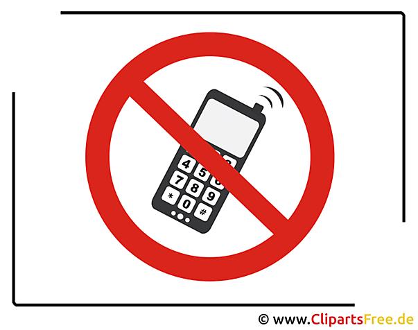 Telefonieren verboten und andere Schilder