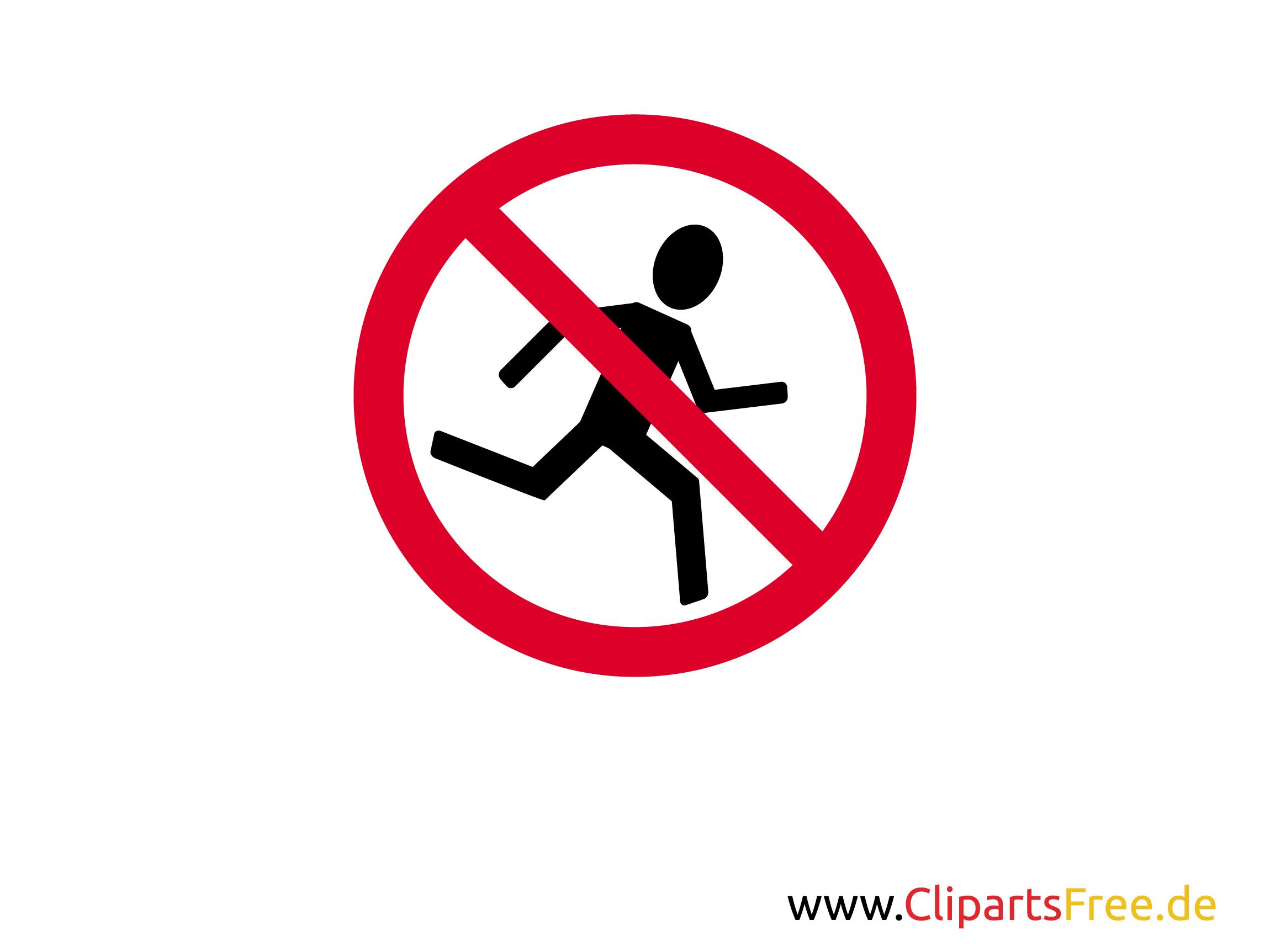 spass verbotsschild joggen verboten zum ausdrucken. Black Bedroom Furniture Sets. Home Design Ideas