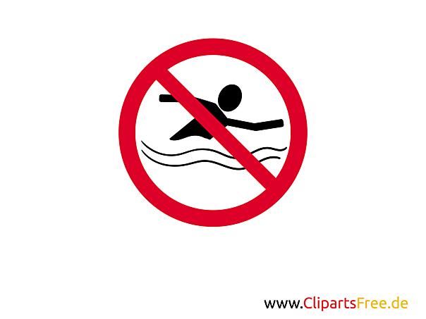 verbotsschild schwimmen verboten zum ausdrucken. Black Bedroom Furniture Sets. Home Design Ideas