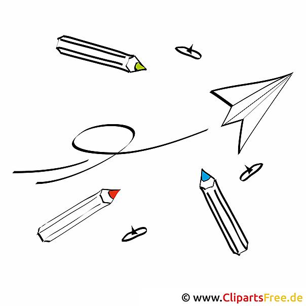 Clipart Unterricht für Schule kostenlos