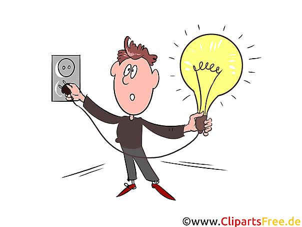電気クリップアート、画像、イラスト