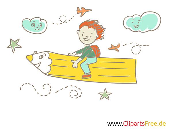 学校や幼稚園 - 学生のための無料の写真は黄色の色鉛筆で飛ぶ