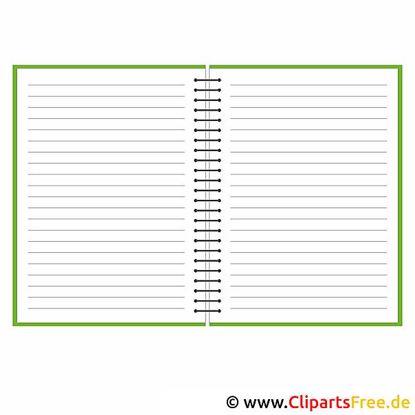 Notebook afbeelding clip art gratis