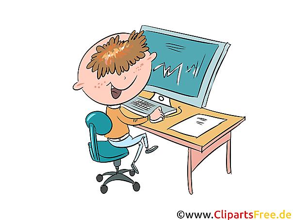 Informatik Unterricht Schulbilder, Cliparts für Schule