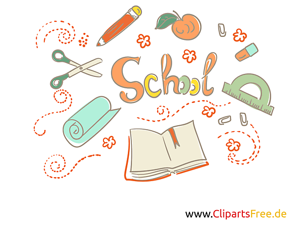 学校のクリップアート無料