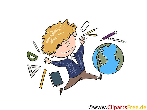Schooleducatie, schoolfoto's, school clipart