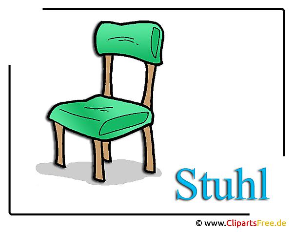 Stuhl bild clipart free for Stuhl design schule