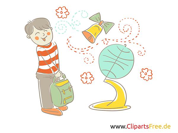 Unterrichtsmaterial, Cliparts, Bilder für Grundschule