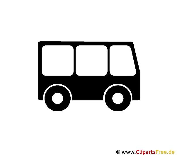 Bildtitel: Bus Piktogramme