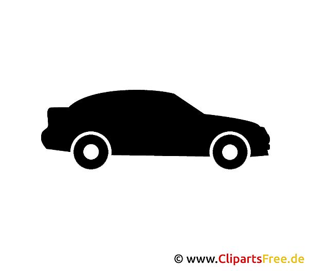 Bildtitel: Piktogramm Personenkraftwagen PKW