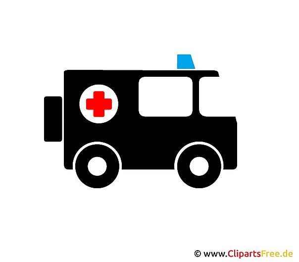 Rettungswagen Clipart - Bild