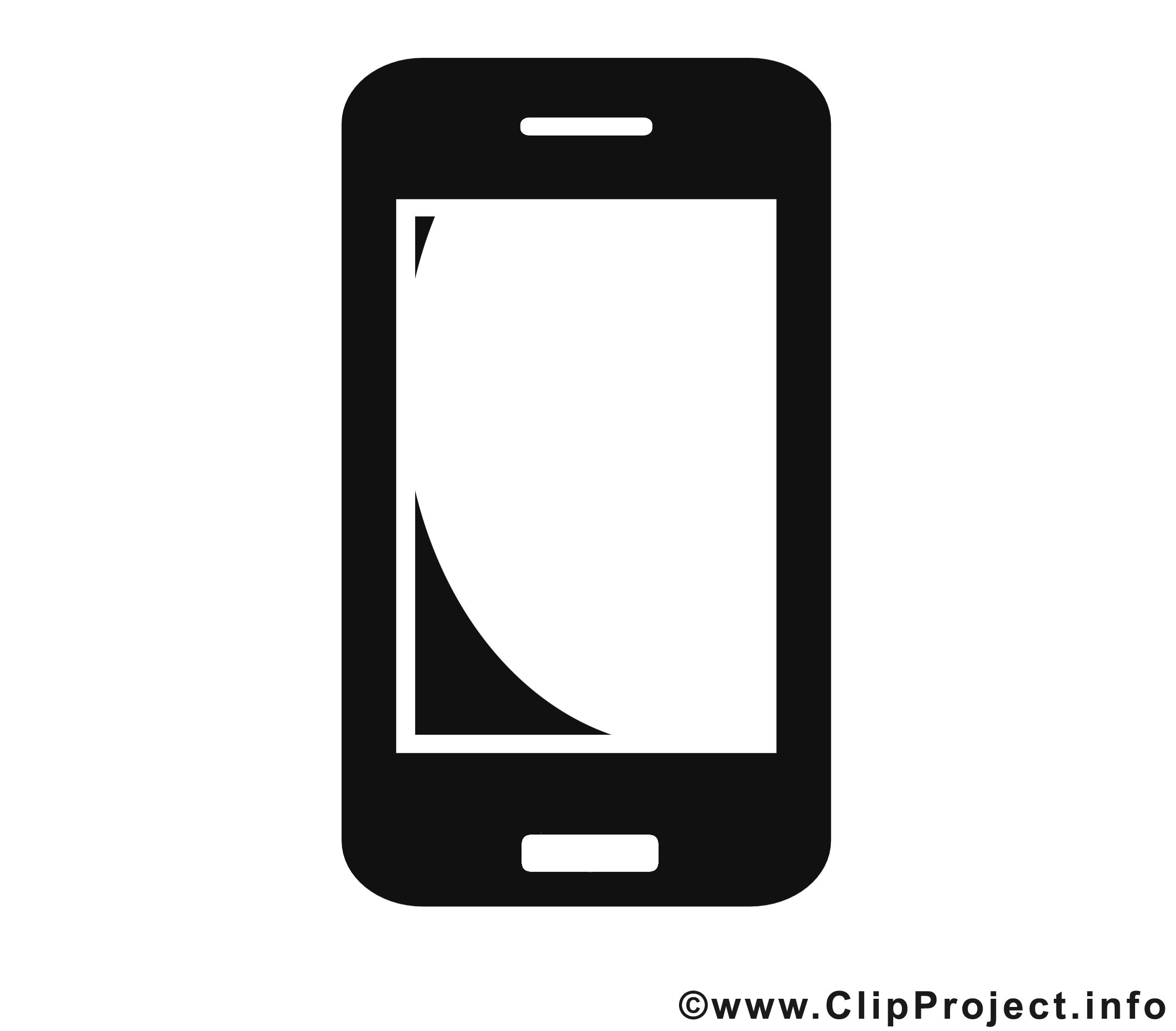 Smartphone Piktogramm