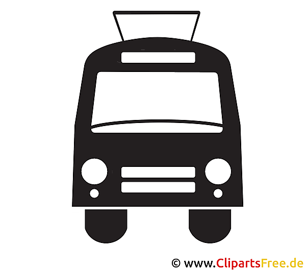 Trolleybus Clipart Icon