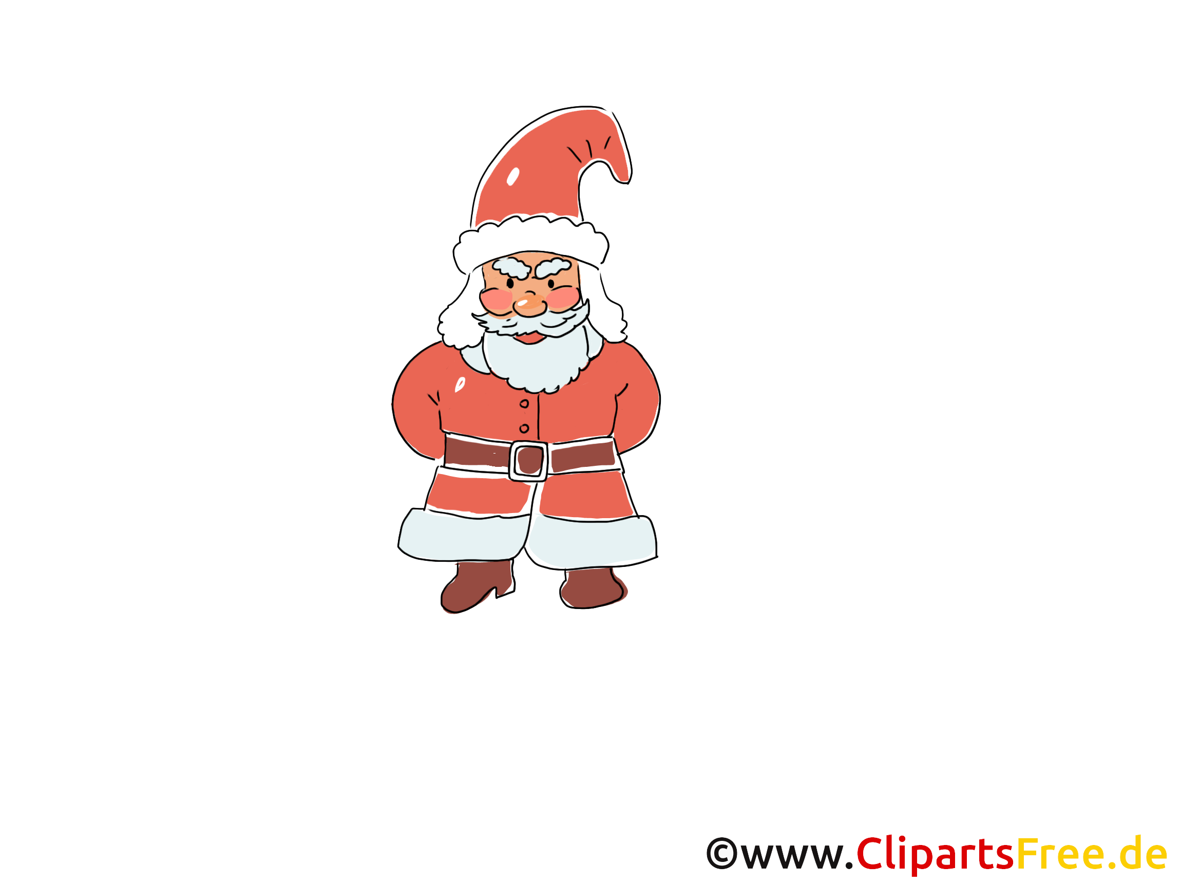 Bild Silvester Santa Claus