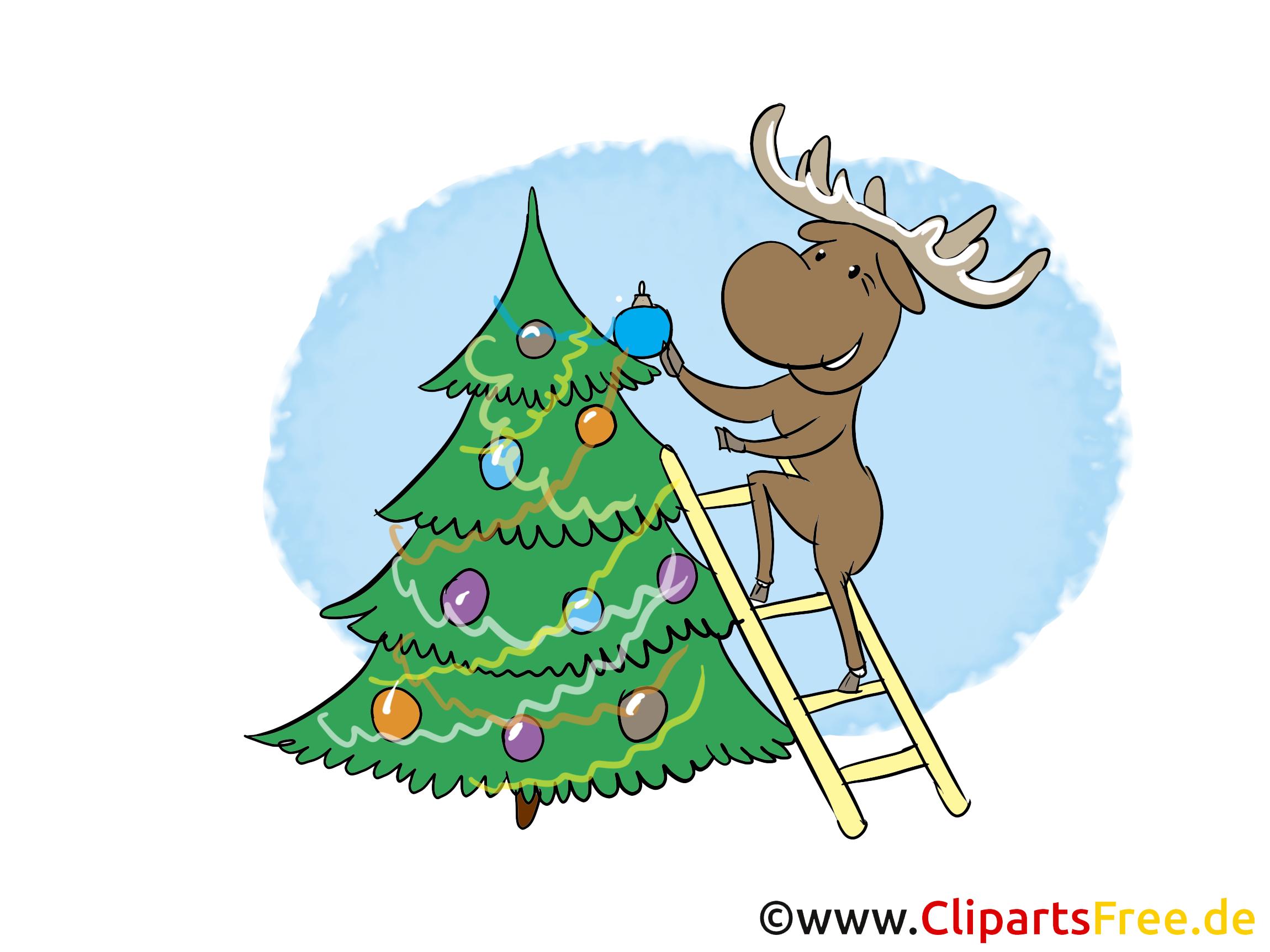 Clipart zum Silvester, Neujahr kostenlos