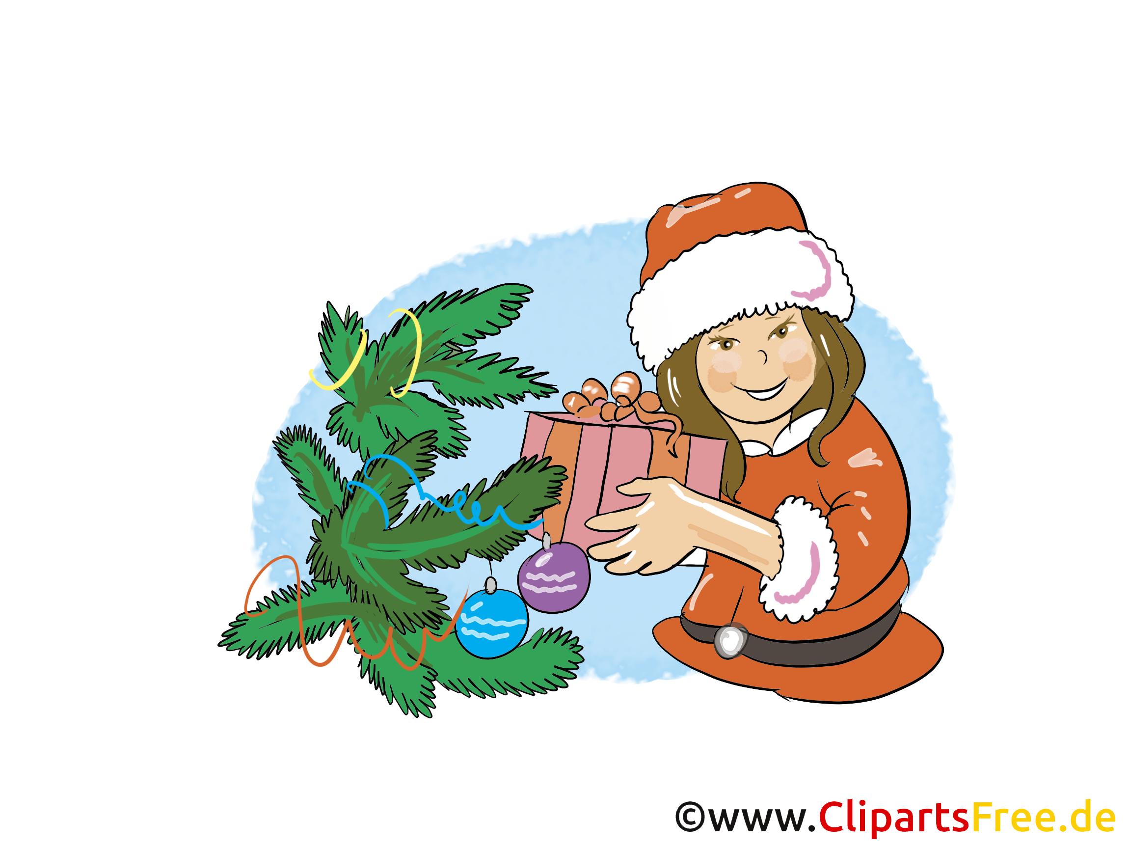 Glückwunschkarte Silvester Clipart, Bild, Cartoon gratis