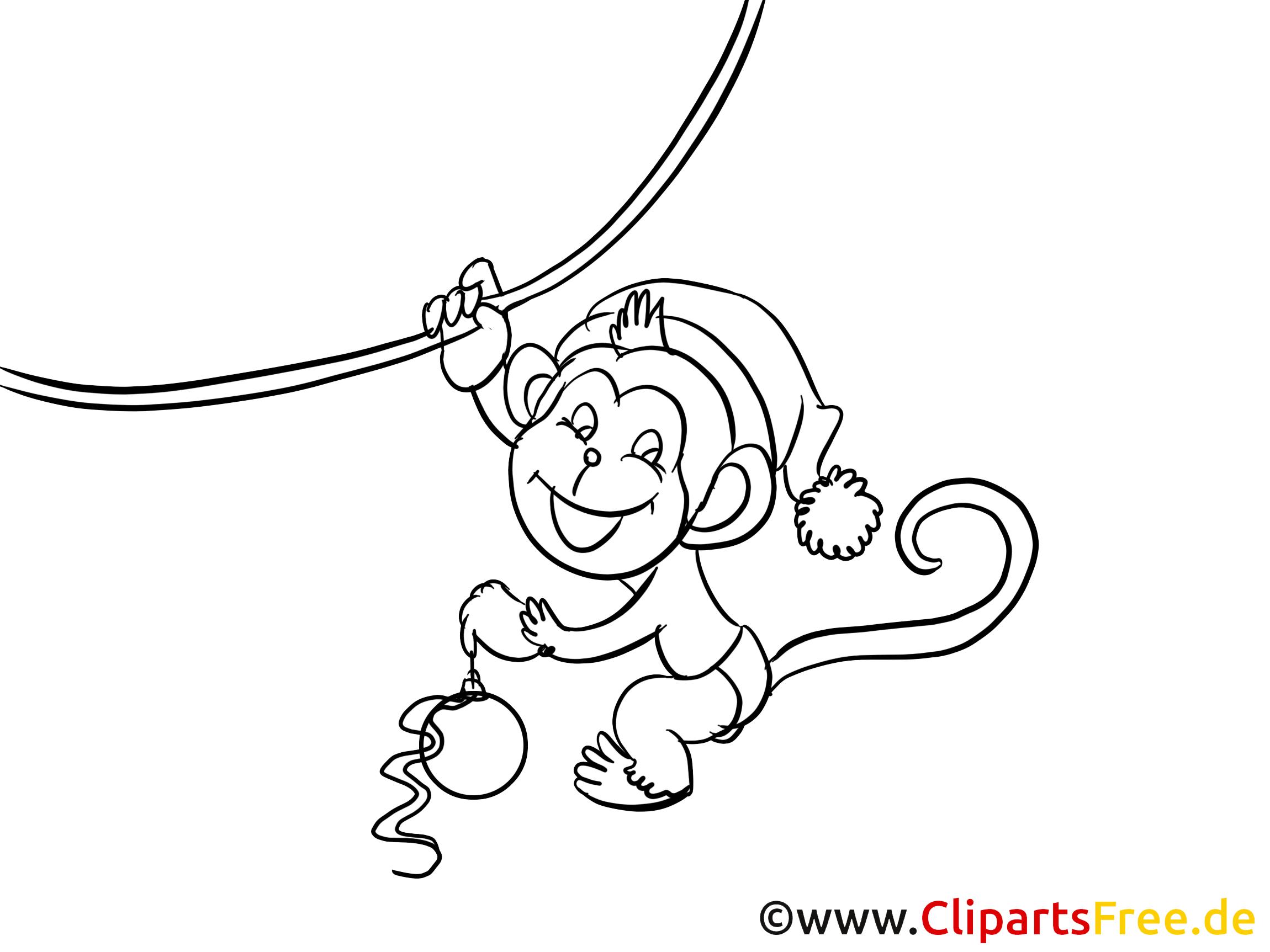 Niedlich Malvorlagen Affe Bilder - Malvorlagen Von Tieren - ngadi.info