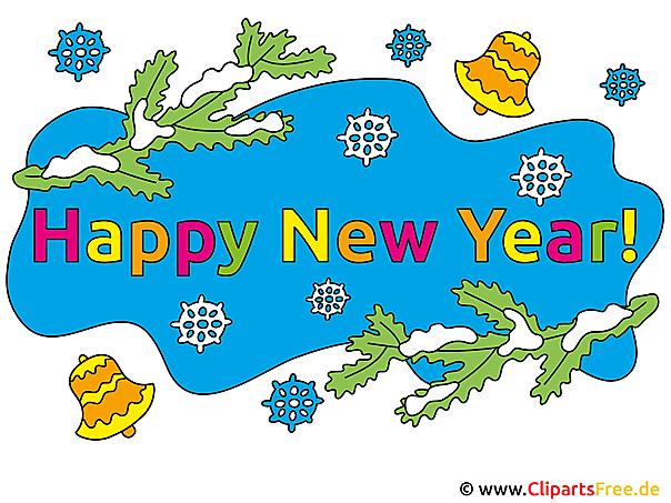 Neujahr Cliparts