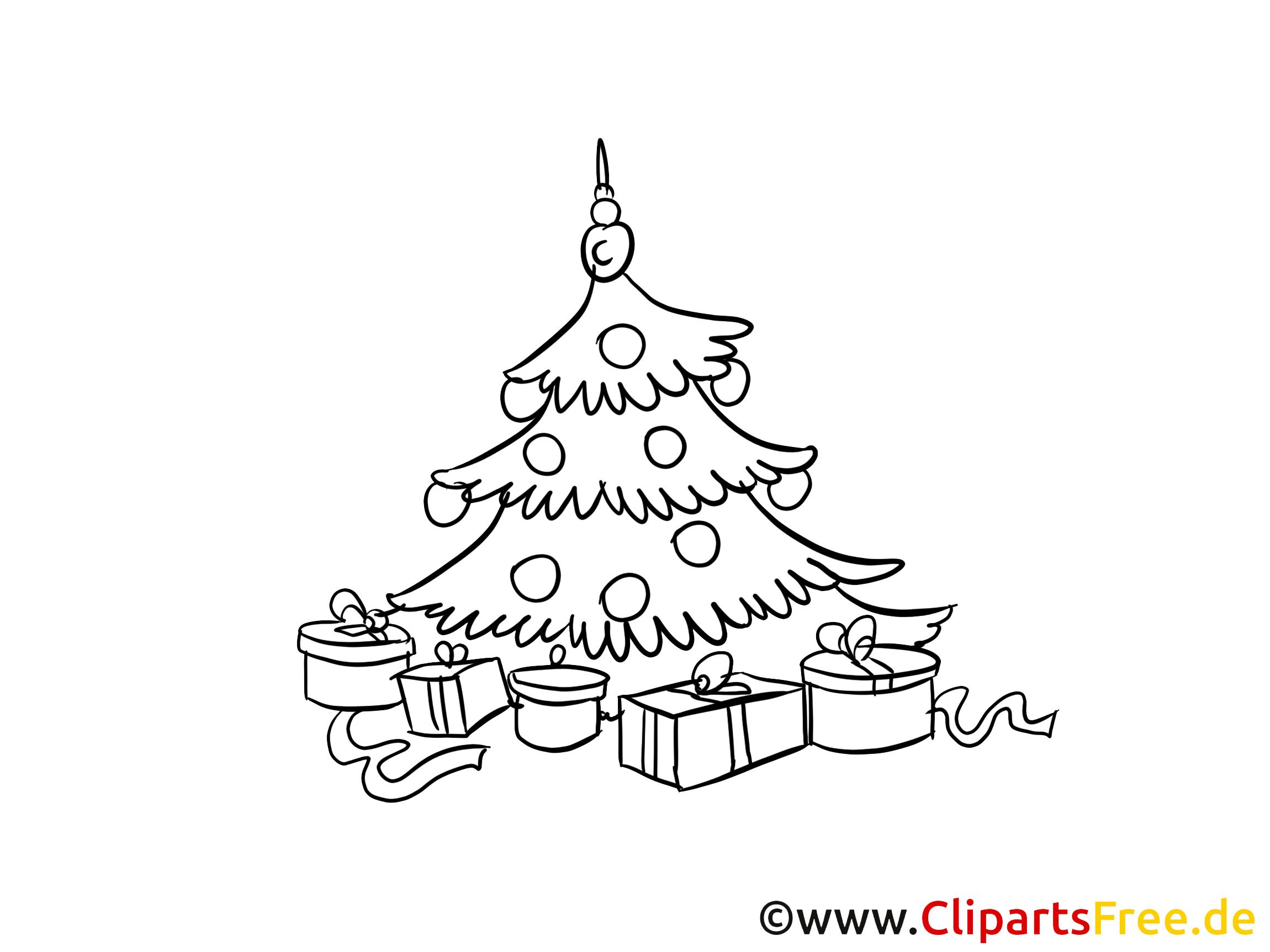 O Noel Agaci Noel Ve Yeni Yil Icin Boyama