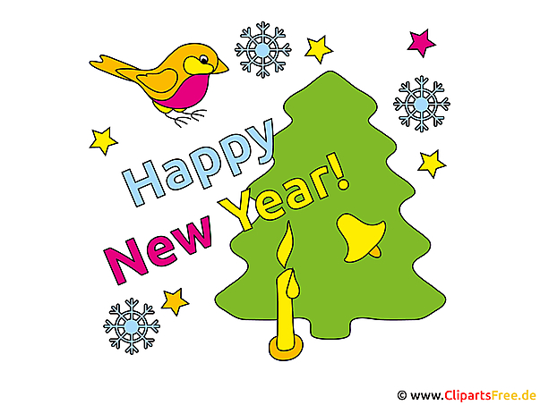 New Years Eve illustraties