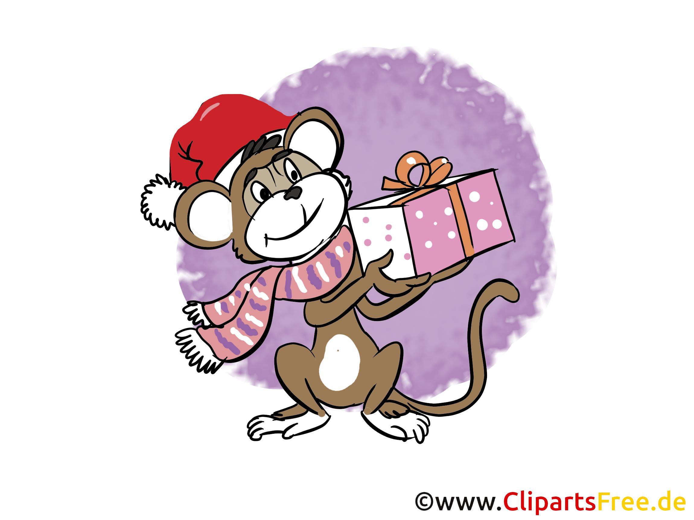 Nieuwjaars clipart, foto, cartoon gratis