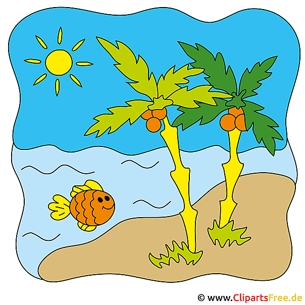 Beach Clip Art - summer pictures gratis