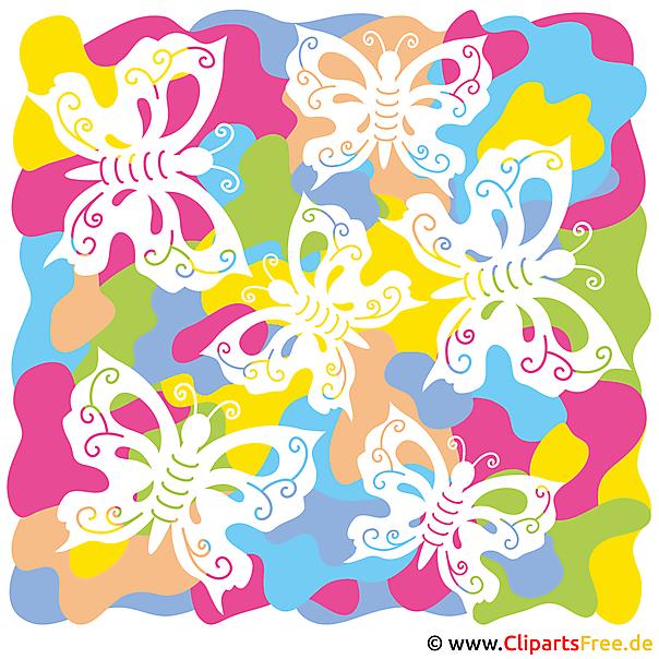 Butterfly Clp Art - summer pictures gratis