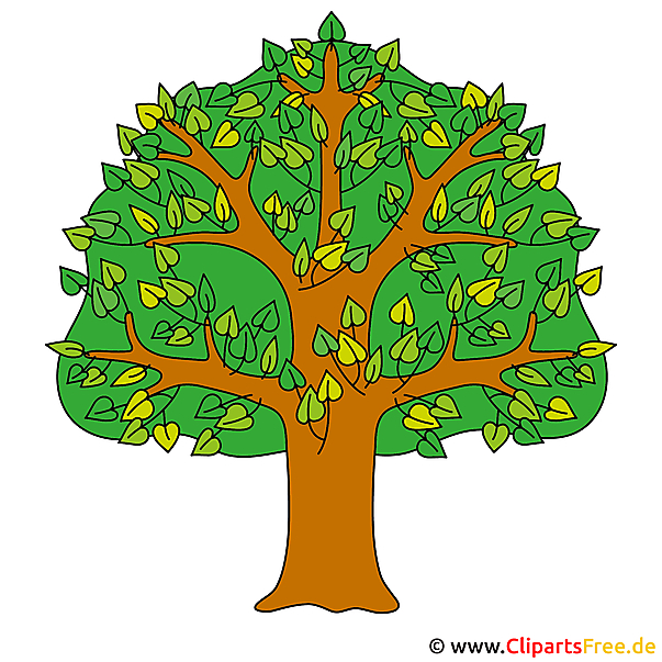 Baum Clip Art Herbst Bilder Gratis Motiv Im Herbstbaum Clm